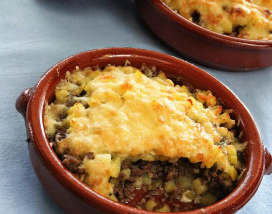 Lihtne kartuli – hakklihavorm