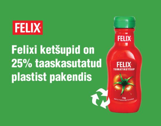 Ketšup punane, tulevik roheline!